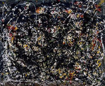 No 6 1949 - Jackson Pollock reproduction oil painting