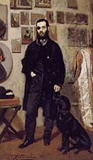 Portrait of Giuseppe Abbati 1865 - Giovanni Boldini