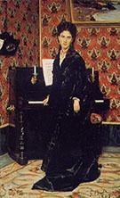 Portrait of Mary Donegan 1869 - Giovanni Boldini