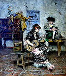 A Guitar Player 1873 - Giovanni Boldini
