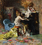 Woman at a Piano 1871 - Giovanni Boldini