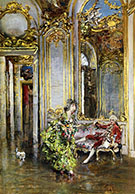 A Friend of the Marquis 1875 - Giovanni Boldini reproduction oil painting