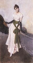 Signorina Concha De Ossa 1888 - Giovanni Boldini reproduction oil painting