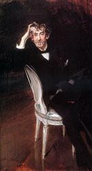 Portrait of James Abbott Mcneil Whistler (1834-1903) 1897 - Giovanni Boldini
