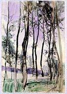 Landscape with Trees 1900 - Giovanni Boldini