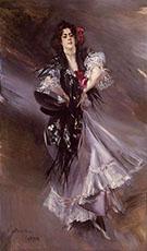 Portrait of Anita de La Ferie the Spanish Dancer 1900 - Giovanni Boldini