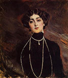 Portrait of Lina Cavalieri 1901 - Giovanni Boldini