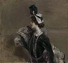 Portrait of Mme Lina Cavalieri 1901 - Giovanni Boldini