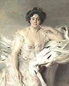 Portrait of Lady Nanne Schrader 1903 - Giovanni Boldini