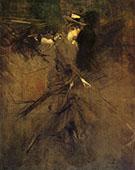 In the Promenade 1905 - Giovanni Boldini