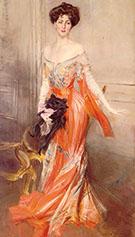 Portrait of Elizabeth Wharton Drexel 1905 - Giovanni Boldini reproduction oil painting