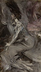 Sitting Lady the Talk 1905 - Giovanni Boldini