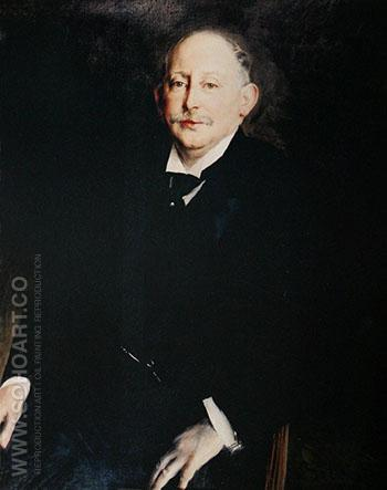 Portrait of Alfred Beit 1906 - Giovanni Boldini reproduction oil painting
