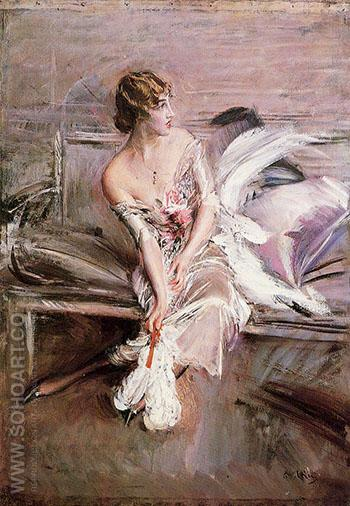 Portrait of Gladys Deacon 1908 - Giovanni Boldini reproduction oil painting