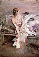 Portrait of Gladys Deacon 1908 - Giovanni Boldini