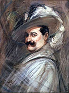 Costantino in the Role of Ernani c 1910 - Giovanni Boldini