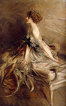 Portrait of Princess Marthe Lucile Bibesco 1911 - Giovanni Boldini