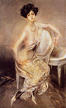 Portrait of Rita de Acosta Lydig 1911 - Giovanni Boldini reproduction oil painting