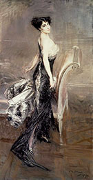 Portrait of a Lady 1912 - Giovanni Boldini