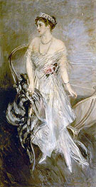 Princess Anastasia of Greece Mrs Leeds 1914 - Giovanni Boldini