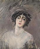 Donna Franca Florio 1921 - Giovanni Boldini