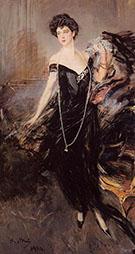 Portrait of Donna Franca Florio 1924 - Giovanni Boldini
