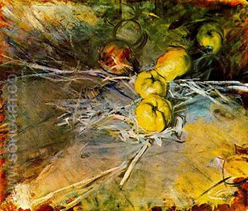 Apples - Giovanni Boldini reproduction oil painting