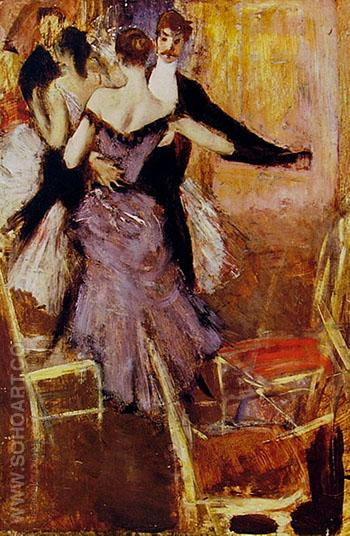 Ballerina in Mauve - Giovanni Boldini reproduction oil painting