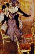Ballerina in Mauve - Giovanni Boldini reproduction oil painting