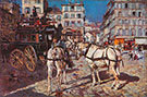 Bus on the Pigalle Place in Paris - Giovanni Boldini