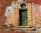 Door in Montmartre - Giovanni Boldini