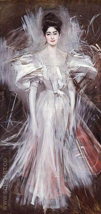 Firework c 1875 - Giovanni Boldini reproduction oil painting