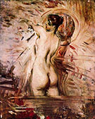 In the Bath - Giovanni Boldini reproduction oil painting