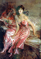 Lady in Rose - Giovanni Boldini