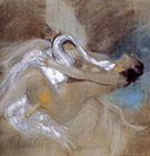 Leda with Swan - Giovanni Boldini