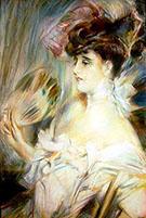Madame Marie Louise Herouet - Giovanni Boldini