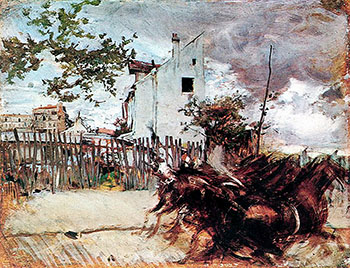 Outskirts of Paris - Giovanni Boldini reproduction oil painting