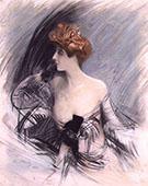 Portrait of Sarah Bernhardt 1 - Giovanni Boldini
