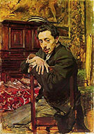 Portrait of the Painter Joaquin Araujo Ruano - Giovanni Boldini
