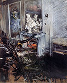 Room of the Painter - Giovanni Boldini
