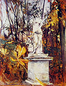 Statue in the Park of Versailles - Giovanni Boldini
