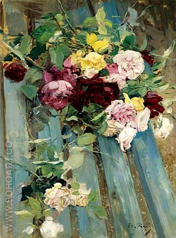 Still Life with Rose - Giovanni Boldini reproduction oil painting