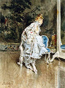 The Beauty Before the Mirror - Giovanni Boldini reproduction oil painting