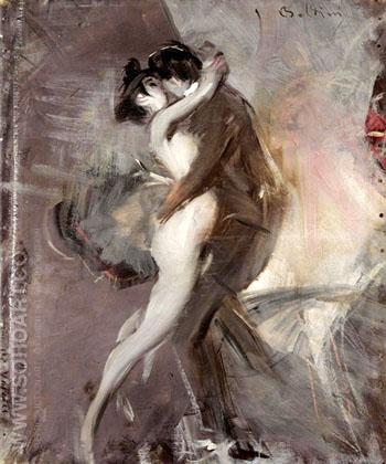The Couple - Giovanni Boldini reproduction oil painting