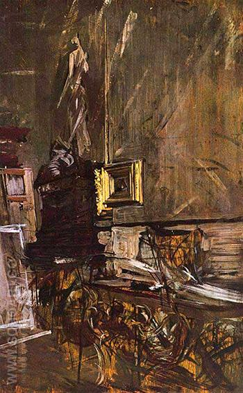 The Golden Frame - Giovanni Boldini reproduction oil painting