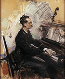 The Pianist a Rey Colaco - Giovanni Boldini reproduction oil painting