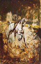 White Horse - Giovanni Boldini reproduction oil painting