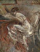 Studio Di Donna Che Scrive - Giovanni Boldini