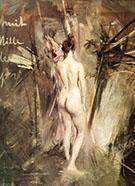 Nudo di Schiena 1895 - Giovanni Boldini