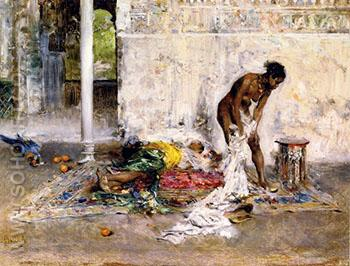 After The Bath - Giovanni Boldini reproduction oil painting